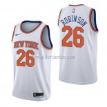Maillot New York Knicks Mitchell Robinson Association Blanc