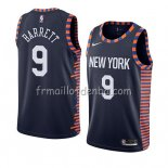 Maillot New York Knicks R.j. Barrett Ciudad 2019-20 Noir