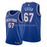 Maillot New York Knicks Taj Gibson Statement Bleu