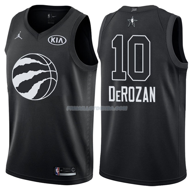 Maillot All Star 2018 Toronto Raptors Demar Derozan 10 Noir
