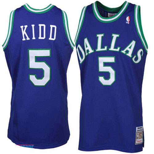Maillot Basket Dallas Mavericks Retro 5 Kidd