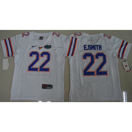 Maillot Enfants NCAA E.Smith 22 Blanc