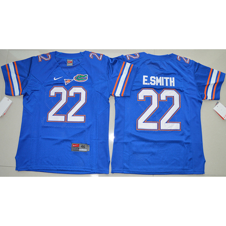 Maillot Enfants NCAA E.Smith 22 Bleu