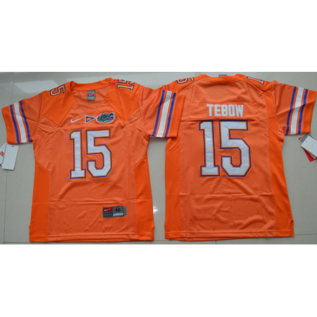 Enfants Maillot Basket NCAA Tim Tebow 15 Orange