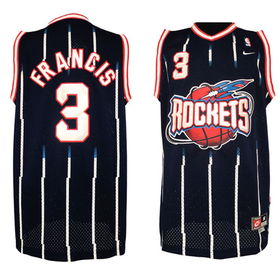 Maillot Houston Rockets Francis 3 Bleu