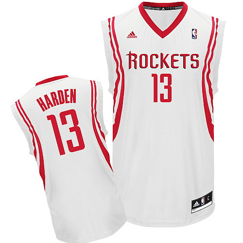Maillot Houston Rockets Harden 13 Blanc