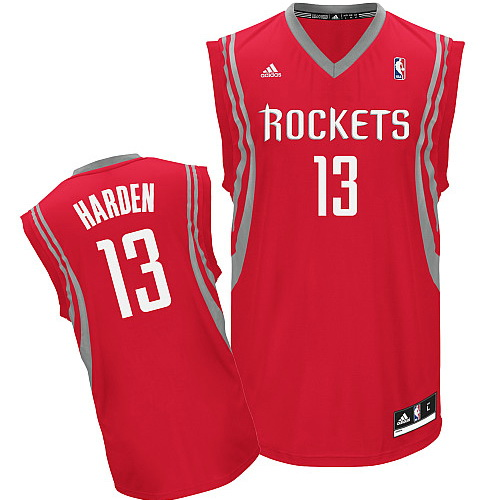Maillot Houston Rockets Harden 13 Rouge