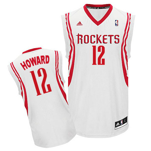 Maillot Houston Rockets Howard 12 Blanc