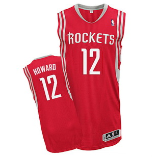 Maillot Houston Rockets Howard 12 Rouge
