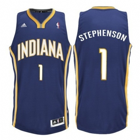 Maillot Basket Indiana Pacers Stephenson 1 Bleu