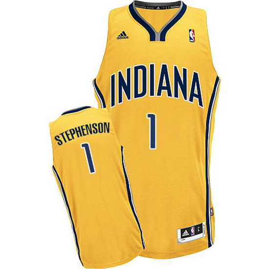 Maillot Basket Indiana Pacers Stephenson 1 Jaune
