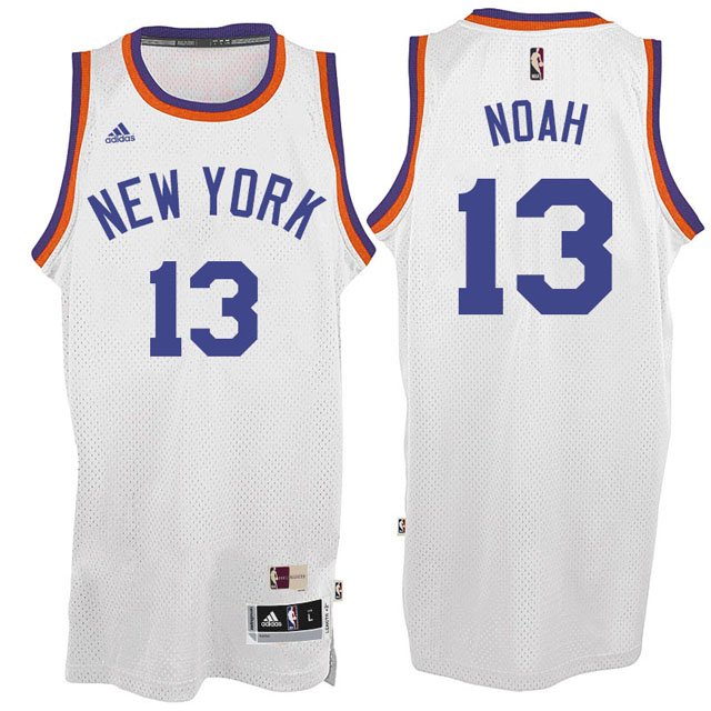 Maillot Knicks Anthony Noah 13 Blanc