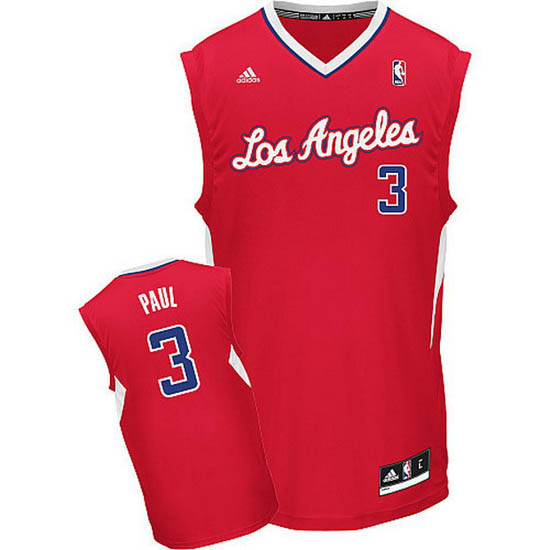 Maillot Los Angeles Clippers Paul 3 Rouge 2014