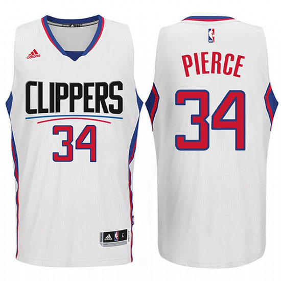 Maillot Los Angeles Clippers Pierce 34 Blanc