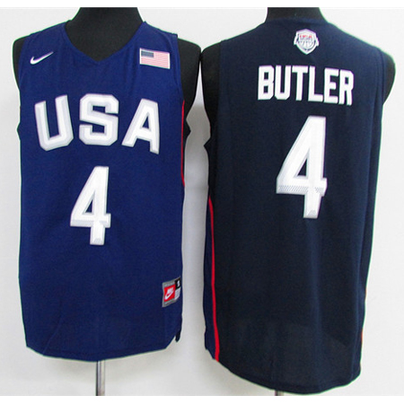 Maillot Basket USA Dream Teams Butler 4 Bleu