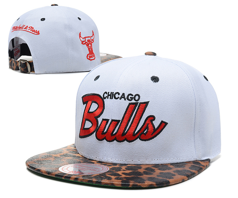 NBA Chicago Bulls Chapeau Blanc 2011