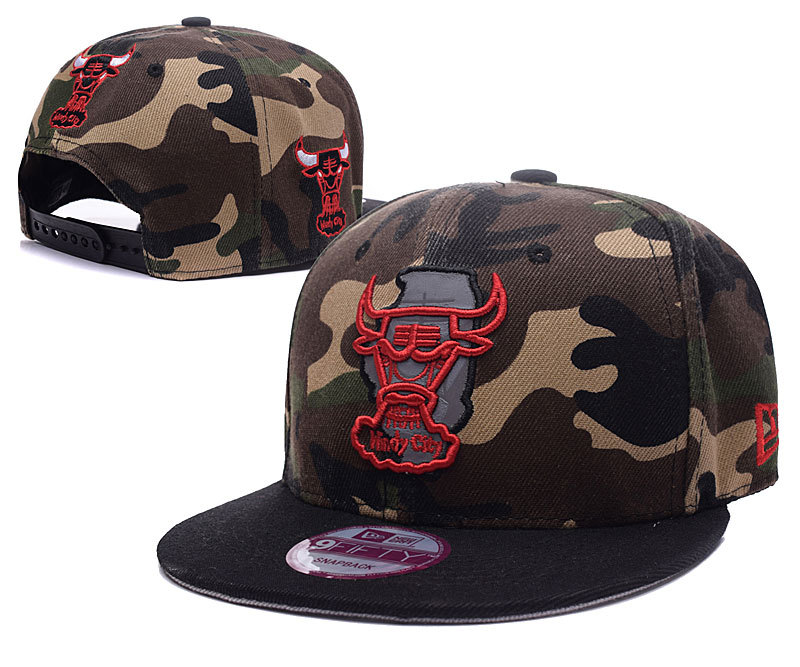 NBA Chicago Bulls Chapeau Brown