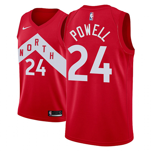 Maillot Toronto Raptors Norman Powell Earned 2018-19 Rouge