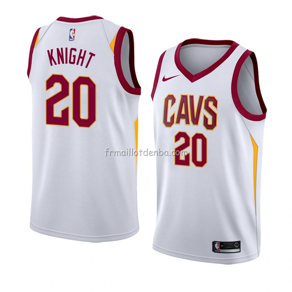 Maillot Cleveland Cavaliers Brandon Knight Association 2018 Blanc