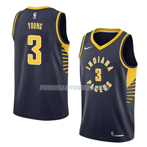 Maillot Indiana Pacers Joe Young Icon 2018 Bleu