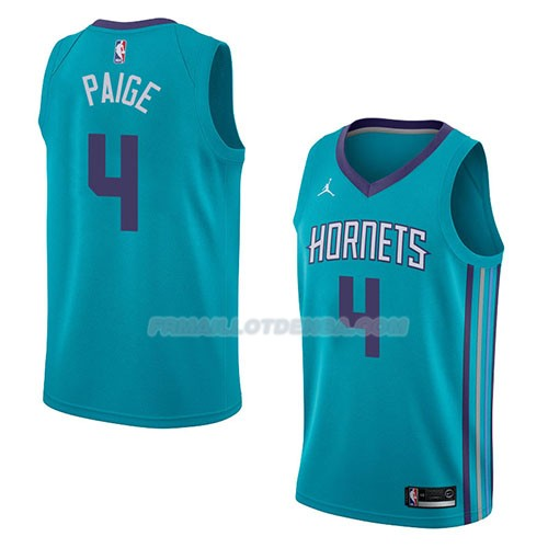 Maillot Charlotte Hornets Marcus Paige Icon 2018 Vert