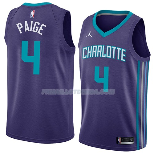 Maillot Charlotte Hornets Marcus Paige Statement 2018 Volet