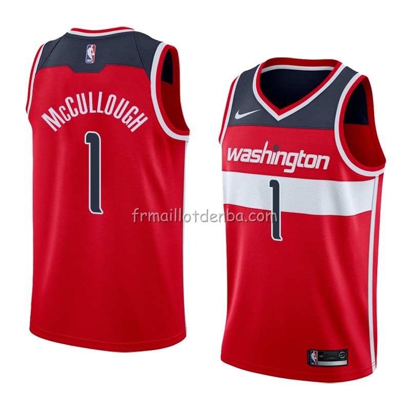 Maillot Washington Wizards Chris Mccullough Icon 2018 Rouge