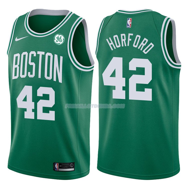 Maillot Authentique Boston Celtics Horford 2017-18 42 Vert