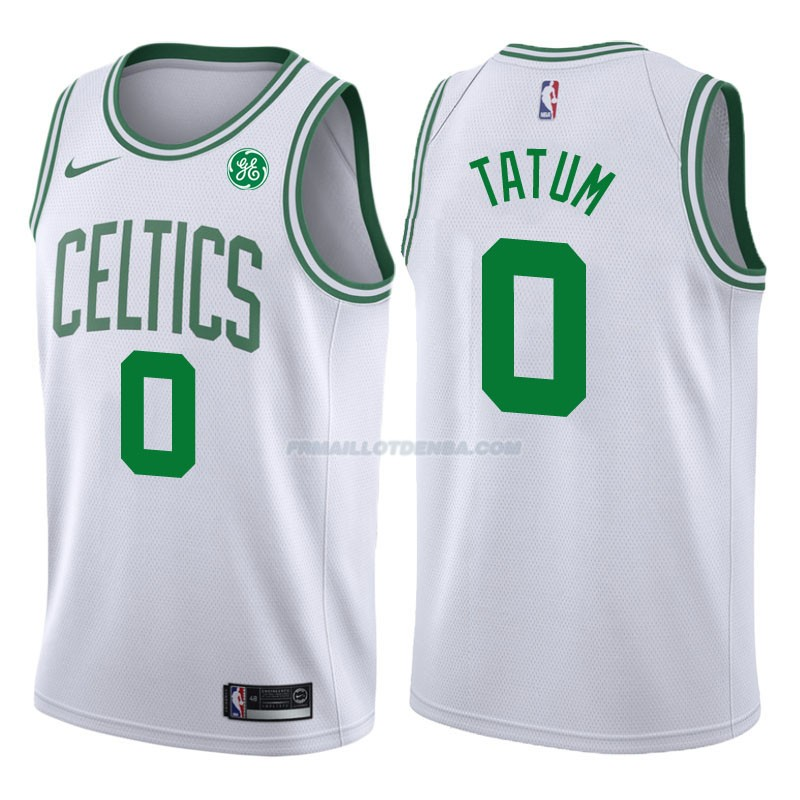 Maillot Authentique Boston Celtics Tatum 2017-18 0 Blanc