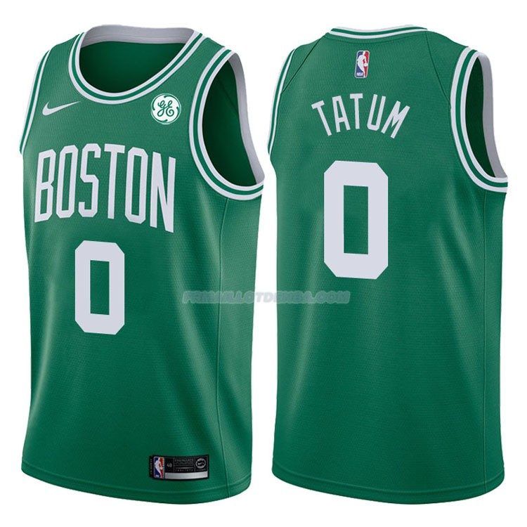 Maillot Authentique Boston Celtics Tatum 2017-18 0 Vert