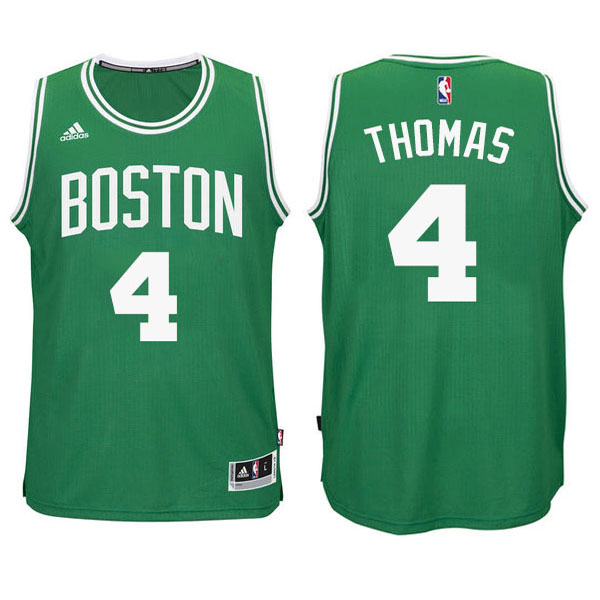 Maillot Basket Basket Enfant Boston Celtics Thomas 4 Vert