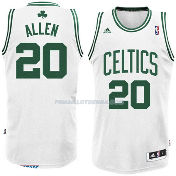 Maillot Basket Boston Celtics Allen 20 Blanco