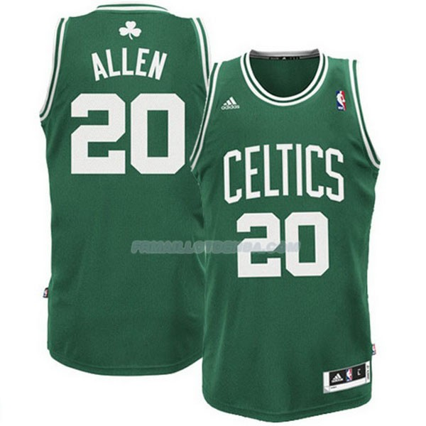 Maillot Basket Boston Celtics Allen 20 Verde
