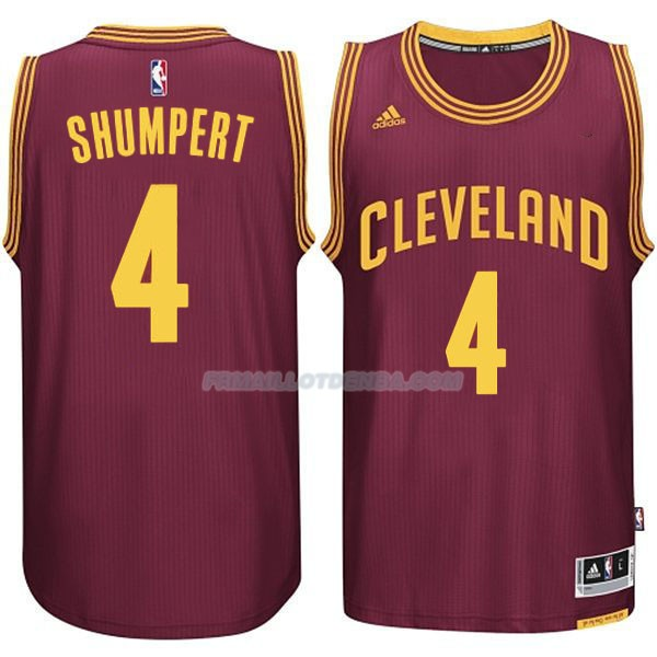 Maillot Basket Cleveland Cavaliers Shumpert 4 Rojo