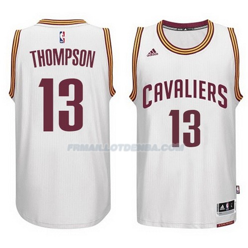 Maillot Basket Cleveland Cavaliers Tristan 2017 Thompson 13 Blanco