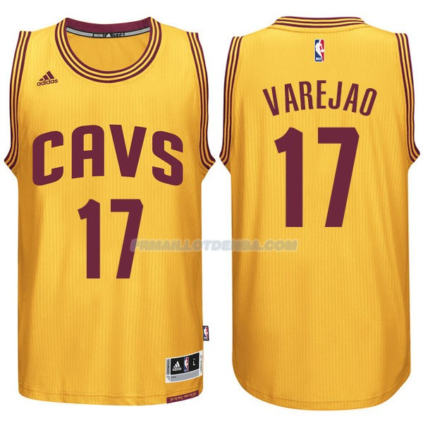 Maillot Basket Cleveland Cavaliers Varejao 17 Amarillo