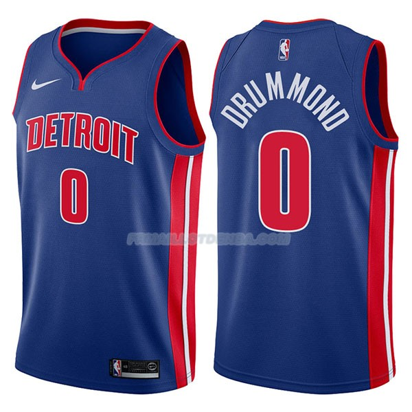 Maillot Detroit Pistons Andre Drummond Icon 2017-18 0 Azul