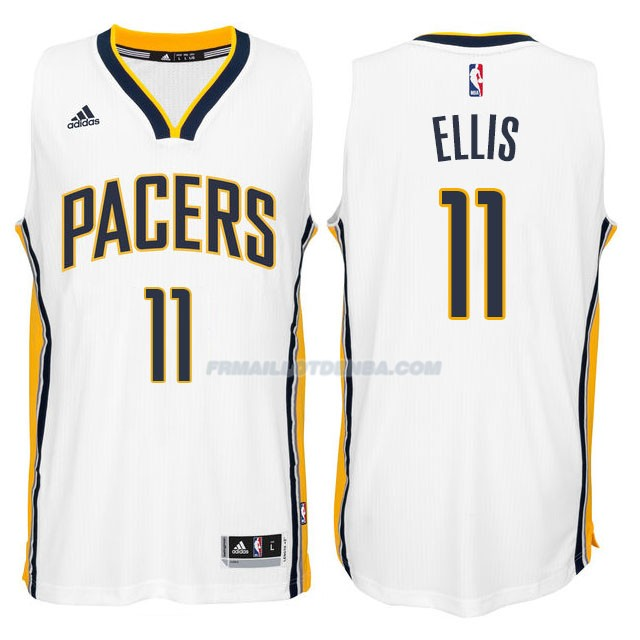 Maillot Basket Indiana Pacers Ellis 11 Blanco