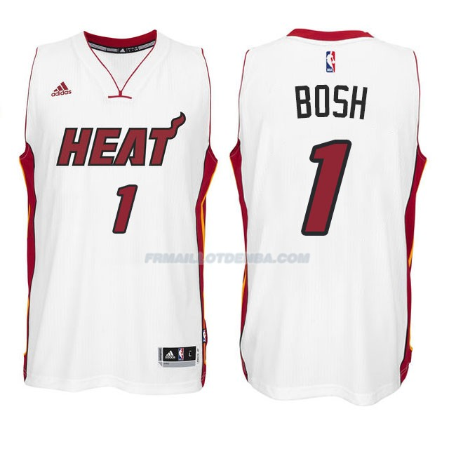 Maillot Basket Miami Heat Bosh 1 Blacno