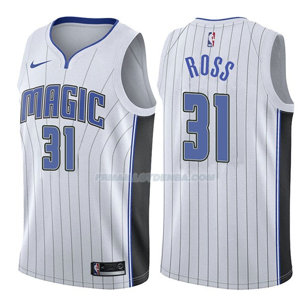 Maillot Orlando Magic Terrence Ross Association 2017-18 31 Blancoo
