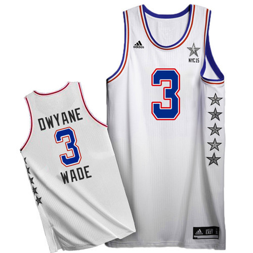Maillot Basket All Star Wade 3 Blanc 2015