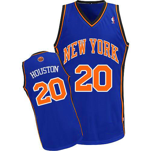 Maillot Basket New York Knicks Houston 20 Bleu 2016