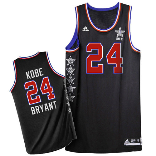 Maillot Basket All Star Bryant 24 Noir 2015
