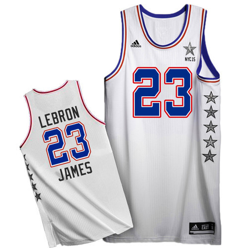 Maillot Basket All Star James 23 Blanc 2015