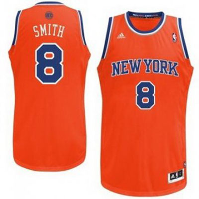Maillot Basket New York Knicks Smith 8 Orange 2016