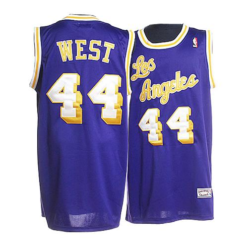 Maillot Basket Los Angeles Lakers West 44 Pourpre 2016