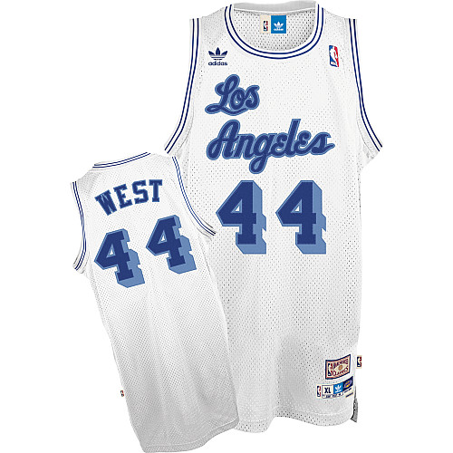 Maillot Basket Los Angeles Lakers West 44 Blanc 2016