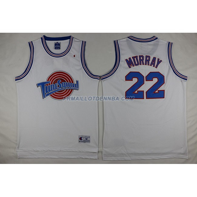 Commemorer Maillot Basket Murray 22 Blanc 2014