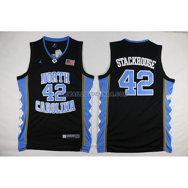 Commemorer Maillot Basket Stackhouse 42 Noir 2016