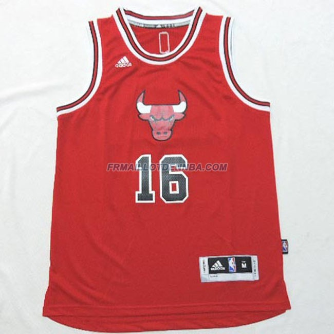enfants maillot basket chicago bulls pau 2 rouge cm 814. Black Bedroom Furniture Sets. Home Design Ideas